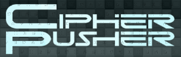 Cipher Pusher Title Screen